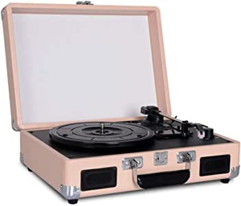 JAYLONG Tocadiscos Record Player 3 velocidades con Altavoces ...
