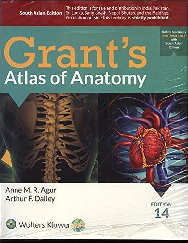 GRANTS ATLAS OF ANATOMY, 14/E