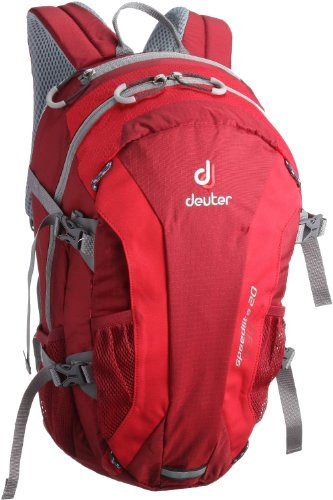 Deuter Speed Lite 20 - Ultralight 20-Liter Hiking Backpack, Cranberry / Fire, 20 Liter by Deuter