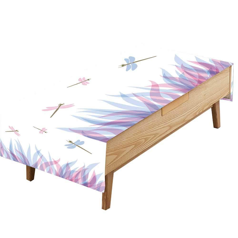 PINAFORE プリント生地 テーブルクロス フロック カナダ ジース V イオン入り 春に散りばめられたシルエット 大音量空のピクニックに ギャザリング 幅50×長さ80インチ W60