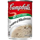 Campbell's Condensed Soup, Cream of Mushroom, 10.5 Ounce (Pack of 12)