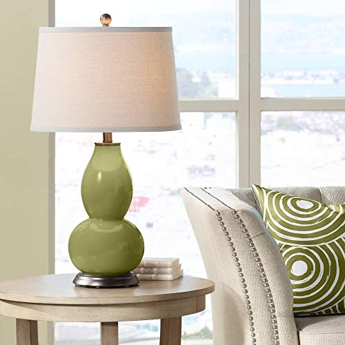 (Rural Green Double Gourd Table Lamp - Color + Plus)