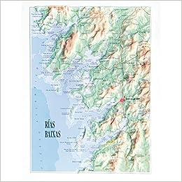 Mapa De Rias Bajas.Amazon Com Mapa En Relieve De Rias Baixas Escala Grafica Spanish Edition 9788417631109 All 3d Form S L Books