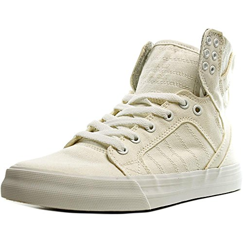 Supra Womens Skytop Sneaker Off White Canvas