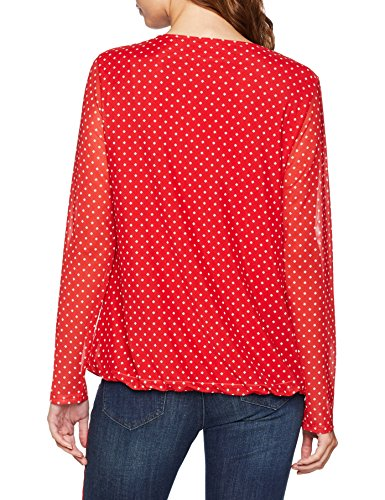 Longues Manches Weber T Gerry Multicolore 6106 À Gemustert Femme rot shirt xwXqwHdI