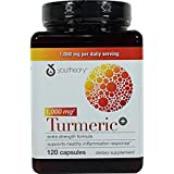 Youtheory Turmeric Extra Strength Formula Capsules 1,000 mg per Daily, SUPERSize 2Pack (120 Count Each )