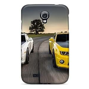 Faddish Phone Camaro Combo Case For Galaxy S4 / Perfect Case Cover
