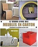 Grand livre des meubles en carton