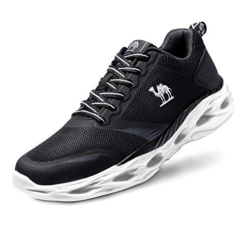大胆不敵眼旋回キャメルレディースTrail Running Shoes、軽量ファッションスポーツアスレチックスニーカーforジムウォーキング