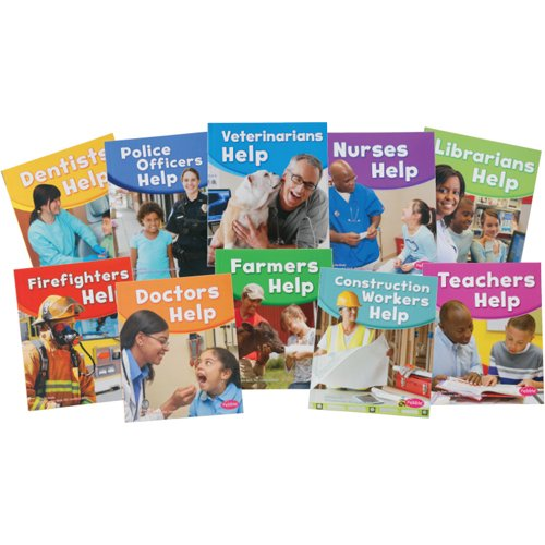 Our Community Helpers 10 pc. Softcover Book Set