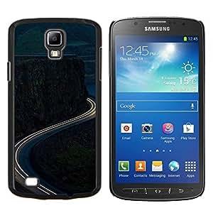 Eason Shop / Premium SLIM PC / Aliminium Casa Carcasa Funda Case Bandera Cover - Time-Lapse Mountain Road gratuito - For Samsung Galaxy S4 Active i9295