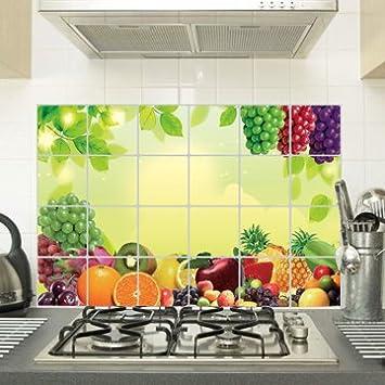 XzölAufkleber Für Fliesen In Der Küche Hohe Temperatur Glas - Fliesen für restaurant küche