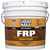 Liquid Nails 022078310355 LTX FRP Adhesive, 3.5 gallon