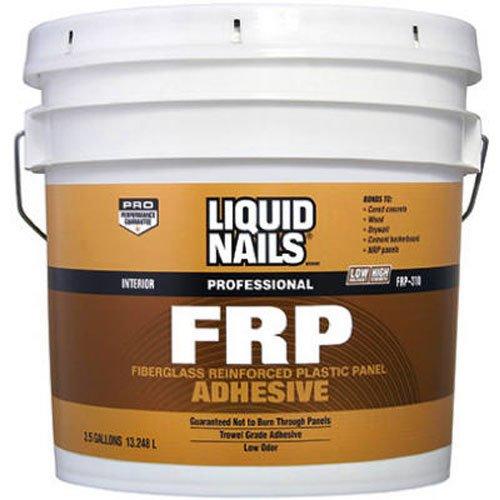Liquid Nails 022078310355 LTX FRP Adhesive, 3.5 gallon by Liquid Nails