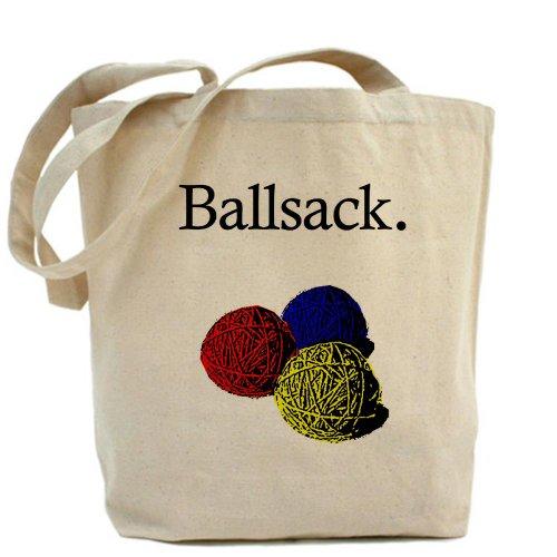 CafePress–Ballsack–Gamuza de bolsa de lona bolsa, bolsa de la compra