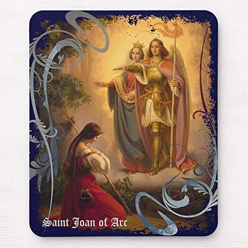 Saint Joan of Arc Mousepad 11.8×9.8 inches Mousepad