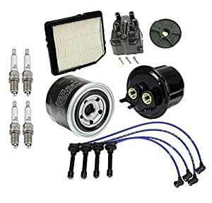 tune up kit air oil fuel filters yec cap rotor wires. Black Bedroom Furniture Sets. Home Design Ideas