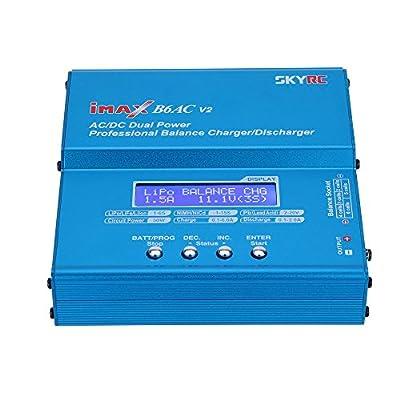 SKYRC B6 AC V2 50W LiPo LiFe LiIon NiMH NiCd Battery Charger Discharger