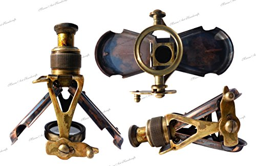 MAH Antique-Style-Ships Pocket- Monocular- Brass Telescope- with-Box. C-3232 4