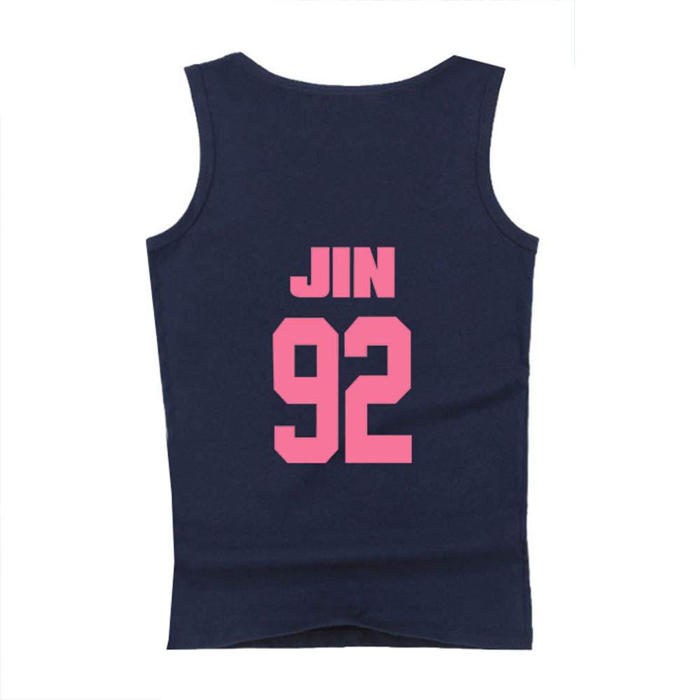 Bts Casual Tshirt Korean Version Casual S Linen Summer Short Sleeve Contrasting Colors Tsh