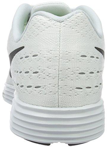 Platinum Black Blanco da Lunar pure Plata Nike Multicolore Negro Uomo Corsa Tempo Scarpe White 2 B4Zwq67
