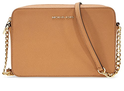 Michael Kors Large Jet Set Crossbody Bag - Acorn