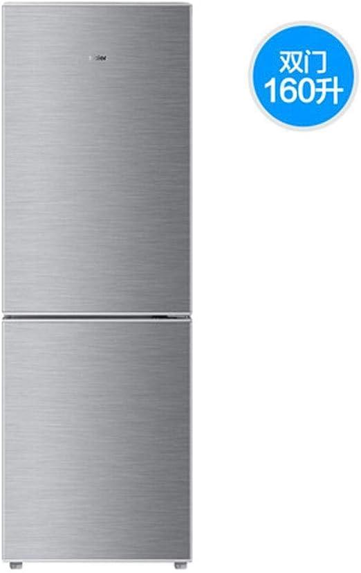 MYYQ Refrigerador de Dos Puertas de 160 litros, refrigerado y ...
