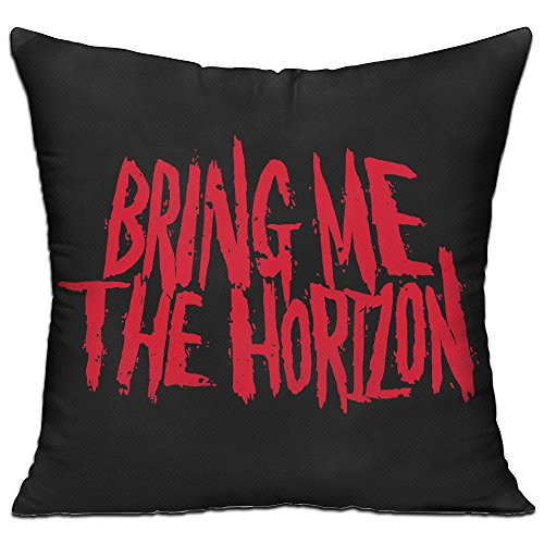 Bring Me The Horizon Band Logo Cotton Peach Blossom Pillow