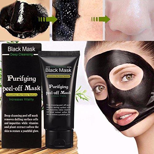 Blackhead Cleansing Mask LuckyFine Acne Face Mask Deep Clean Blackhead Oil-control Anti-aging Acne Treatment by...