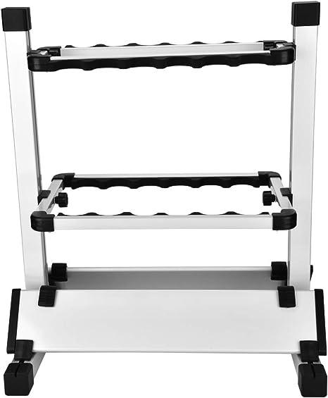 Zclleiyi Angelrute Halterung Angelrutenhalter ABS und Aluminium Angelrutenhalter mit gro/ßer Klemm/öffnung 360 Grad Verstellbarer Angelrutenhalter