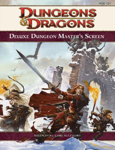 Deluxe Dungeon Master's Screen (4th Edition D&D)