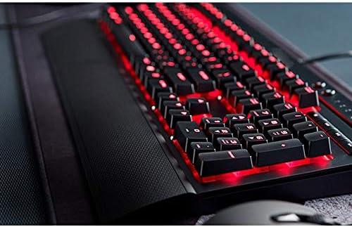 Color : Red Black Green Axis Esports Game Dedicated Keyboard//Waterproof Splash Dust USB Interface Mechanical Keyboard Keyboard Xiao Jian Backlit Mechanical Keyboard 104 Key