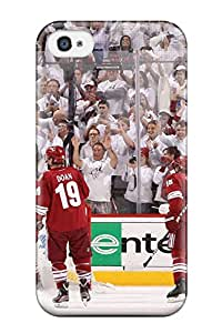 DanRobertse Premium Protective Hard Case For Iphone 4/4s- Nice Design - Phoenix Coyotes Hockey Nhl (67)