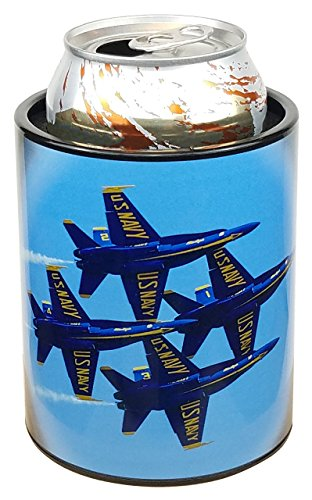 Keepzit Kooler US Navy Blue Angels F18 Can Cooler, 12-16 Oz Cans and Bottles ()