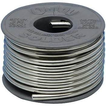 Oatey 22017 95/5 Solder, 0.117-Inch ga. - Bulk 1 lb.