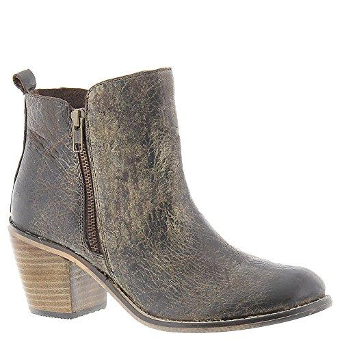 Diba Sant Java Tid Kvinna Boot Träkol Läder