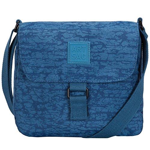 Art Bolso Cruzados Material Sac De Mujer Azul Para Sintético qqBrSCx