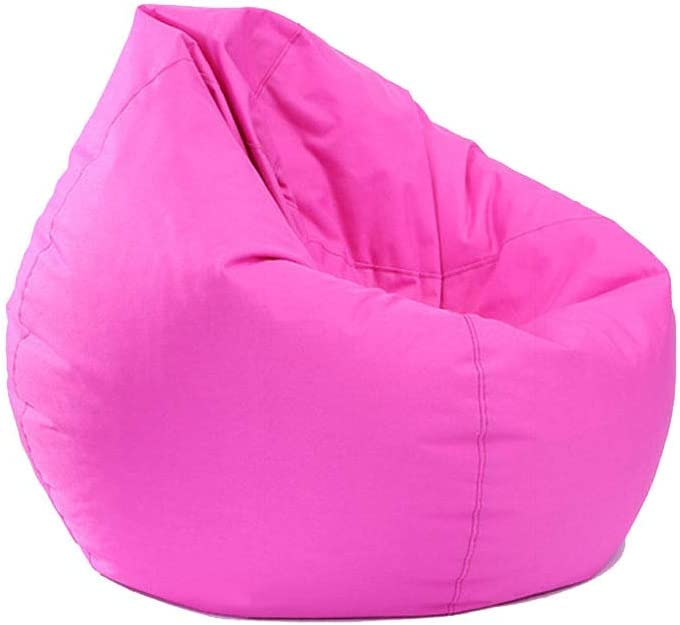 Aiccossr Bean Bag Cover Only Soft Sofa Chair Covers for Adults, Teens and Kids, Stuffed Animal Storage Bag Waterproof Furniture Classic Lazy Lounger Bean Bag Chair (Cover Only, No Filler)