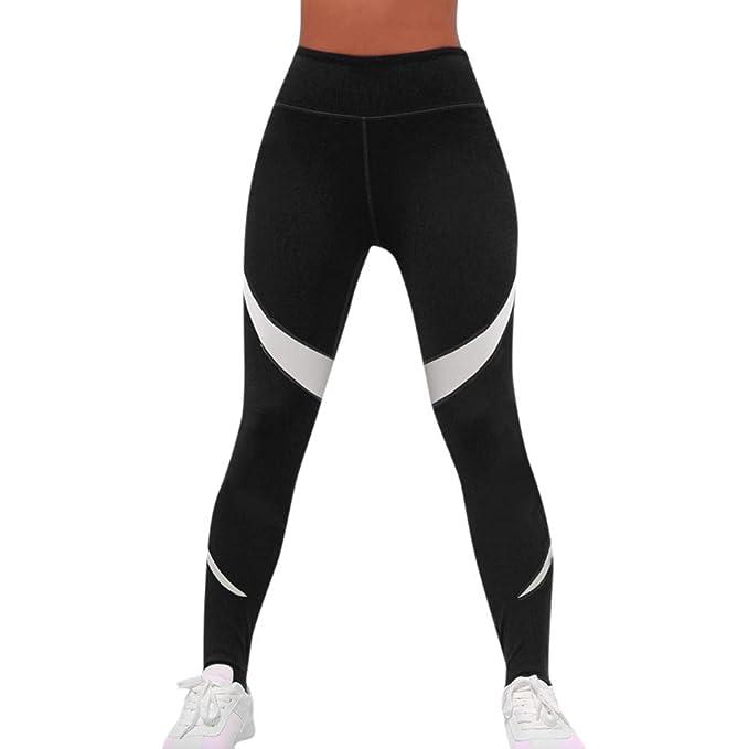 79a973052285 Geilisungren Pantalones de Yoga Mujer, Pantalón Deportivo de Mujer ...