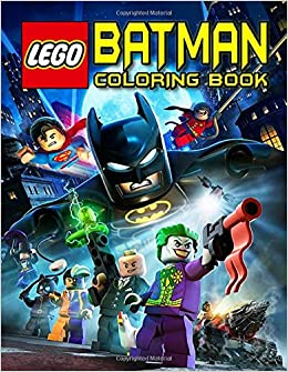 Lego Batman Coloring Book: Funny Coloring Books Gifts for ...