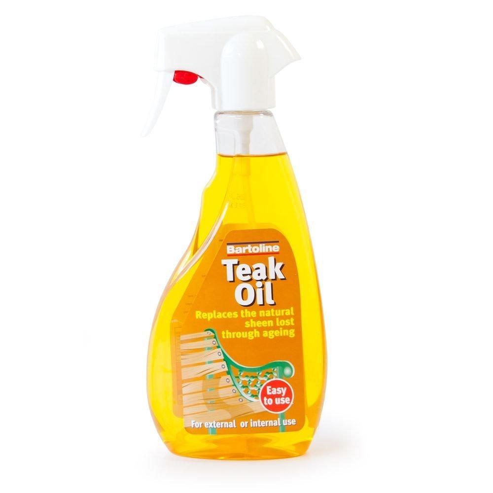 Bartoline Teak Oil Ready to Use Trigger Spray 500ml