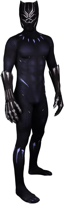 DELight Disfraz de Pantera Negra para Disfraz de Wakanda, Traje de ...