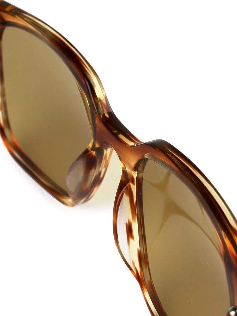 c59115e7af REWOP MILANO - Gafas de sol - para hombre beige/marrón Marke Talla UNI:  Amazon.es: Ropa y accesorios