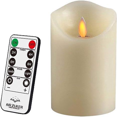 Air Zuker Led Kerzen Mit Beweglicher Flamme Echt Flammen Effekt