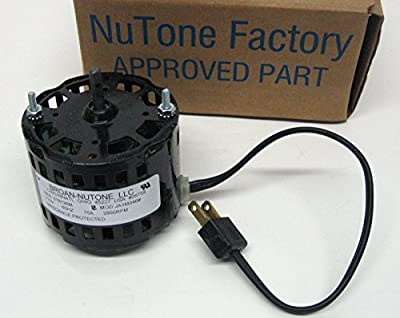 Nutone Vent Fan Motor # 26758; 2800RPM, 115 Volts