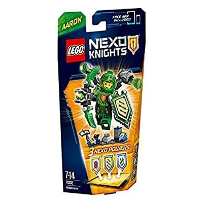 LEGO Nexo Knights Ultimate Aaron (70332): Toys & Games