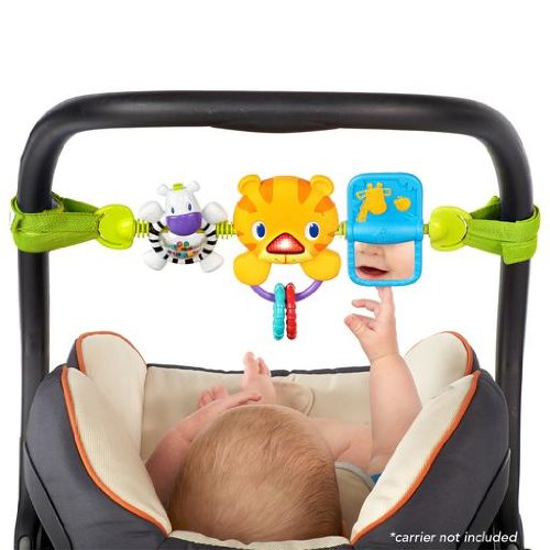 Amazon Bright Starts Take Along Carrier Toy Bar Baby Stroller Toys