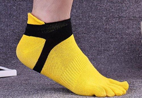 Légères 6 Confortable Doigts Running Respirant Sport Orteils Cinq Lot Chaussettes Pied À Paires Homme Pour De Acmede Séparés qtwzBz
