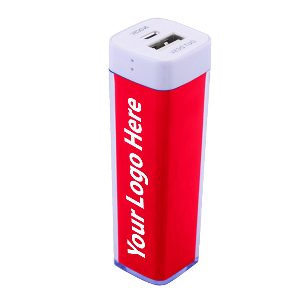 Plastic Mobile Power Bank Charger - 25 Quantity - $12.35 Each - PROMOTIONAL PRODUCT / BULK / BRANDED with YOUR LOGO / CUSTOMIZED by Sunrise Identity