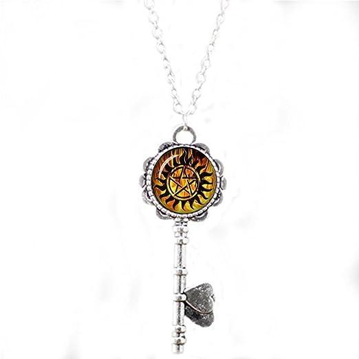 Winchester - Collar para llaves, diseño de tatuaje: Amazon.es: Hogar